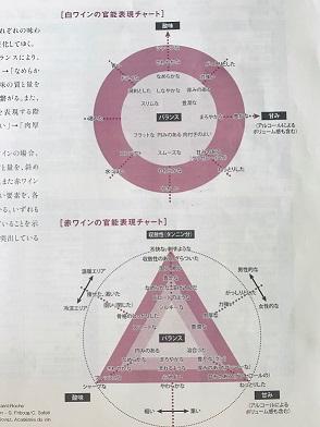 ソムリエ教本 官能表現チャート